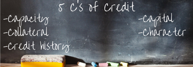 The 5 C's of credit will help determine if you can get a mortgage