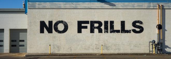 No-Frills Mortgages